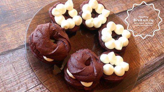 """Пирожное """"Шоколадные бомбочки"""" за 7 минут"""