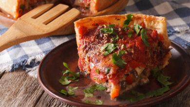 Photo of Чикагская пицца. Супер сочная высокая пицца–пирог