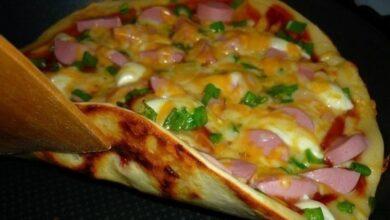 Photo of Пицца на сковороде за 10 минут