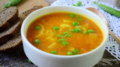 Photo of Рисовый суп с горошком