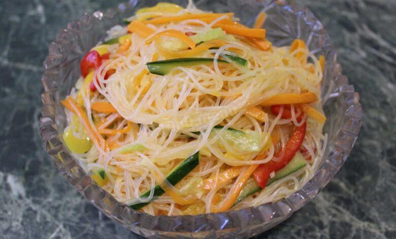 salat-funchoza