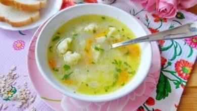 Photo of Овсяный суп с грибами
