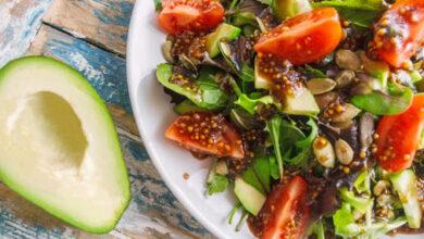 Photo of Салат с авокадо