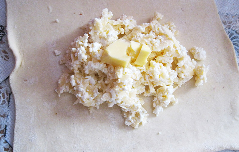 процесс приготовления домашних хачапури