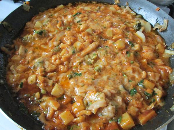 фото домашний спагетти