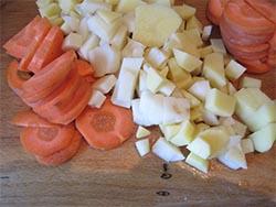 фото овощей для горохового супа