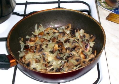 фото приготовления грибов для супа