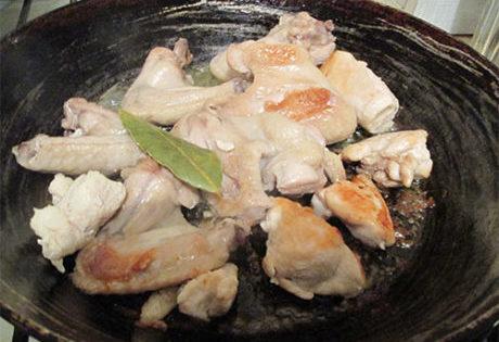 фото процесса приготовления курицы с картошкой