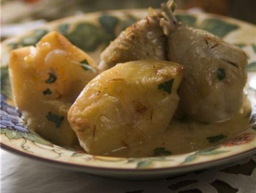 курочка с картошкой Аппетитная