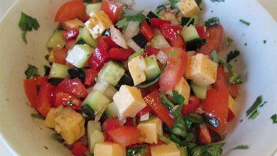Photo of Салат из овощей с сыром