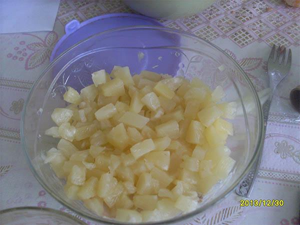 фото ананасов для салата нежность