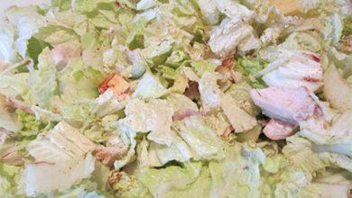 Photo of Салат с китайской капустой и курицей
