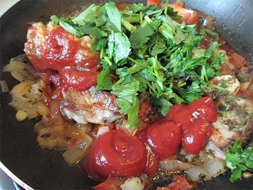 фото приготовления супа-харчо