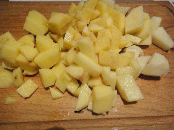 картошка для супа пюре с сыром