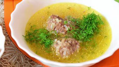 Photo of Домашний суп с фрикадельками
