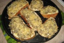 Photo of Сэндвич с грибами и сыром