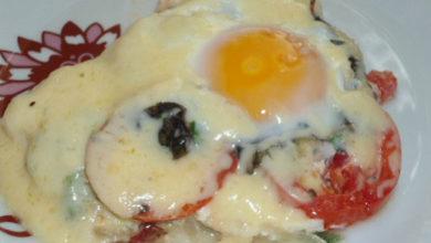 Photo of Яичница с сыром Утренняя