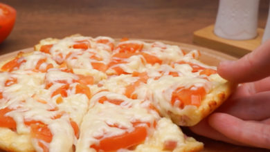 Photo of Пицца на сковородке за 10 минут