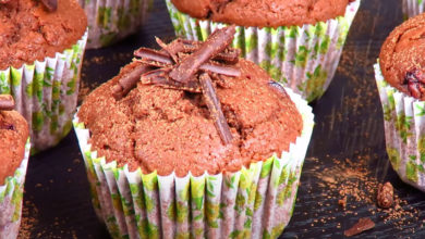 Photo of Пышные шоколадные кексы