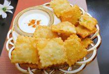 Photo of Квадратики с начинкой из картофеля