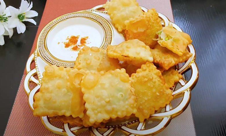 квадратики с картофелем
