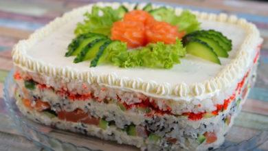 Photo of Суши торт