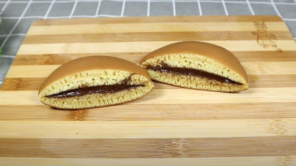 фото готовых японских блинов с начинкой