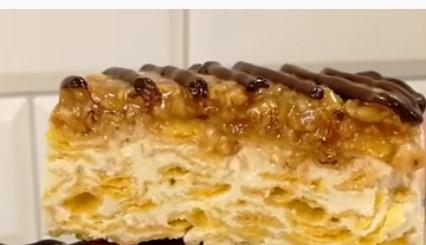 Чудо-торт Карамельный