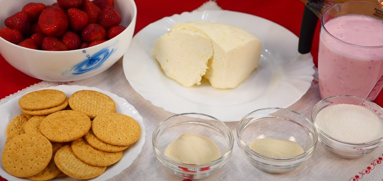Десерт с творогом без выпечки