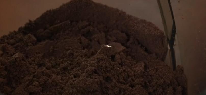 Измельчаем печенье