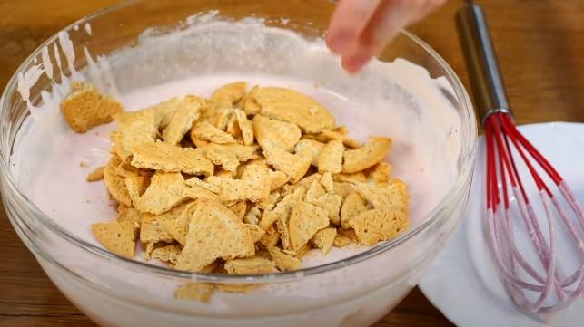 Подготавливаем печенье