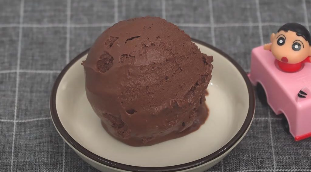 фото домашнего шоколадного мороженого