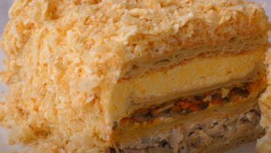 Photo of Закусочный торт Наполеон