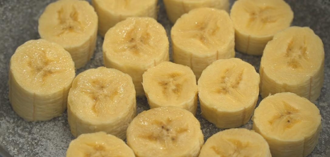 Поджариваем банан