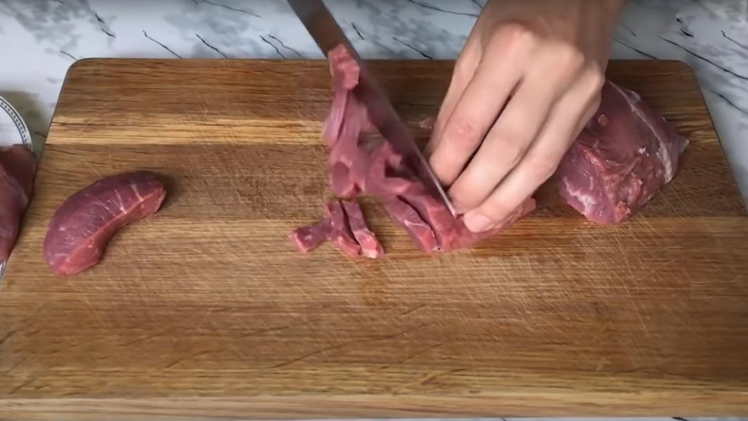 фото говядины для бефстроганова