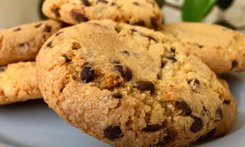 фото печенья с шоколадной крошкой