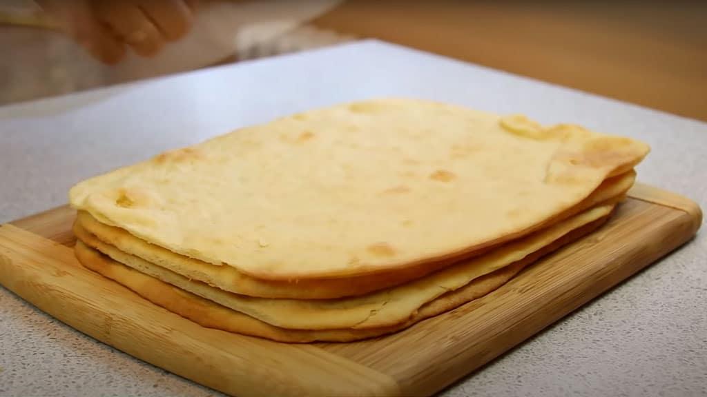 фото коржей для пирожного мимоза