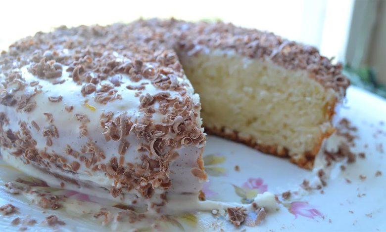 фото сметанного торта в мультиварке