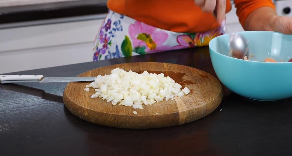 фото лука для картофельных ватрушек