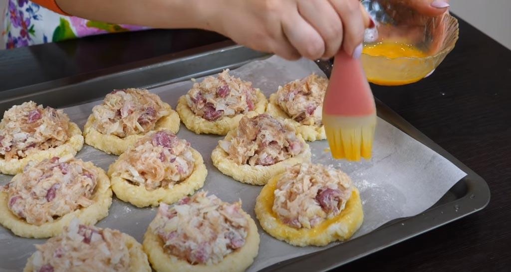 фото картофельных ватрушек с начинкой