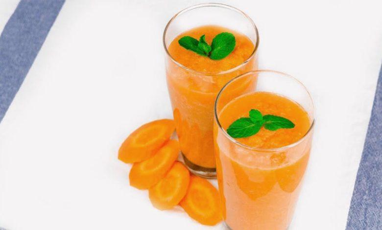 фото морковного смузи