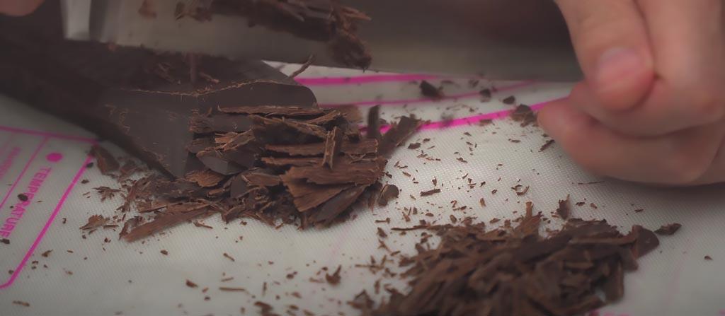 фото шоколада для панна котты