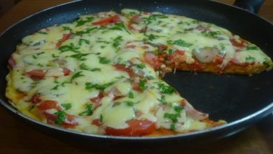 Photo of Пицца на сковороде