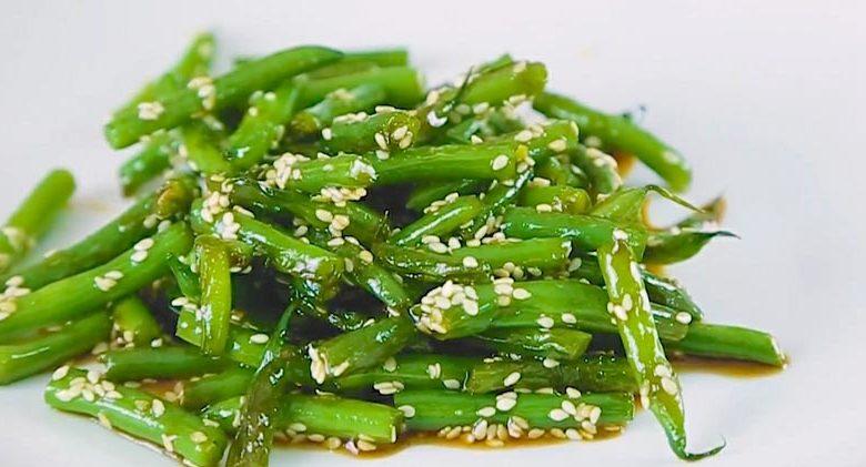 фото салата со стручковой фасолью