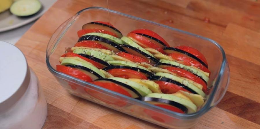 фото подготовленных к запеканию овощей