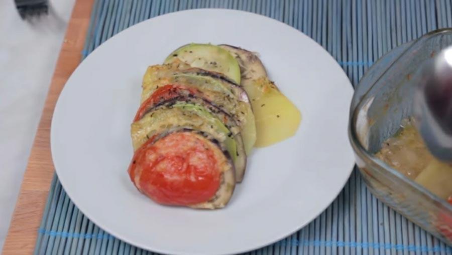фото готовых запеченных овощей