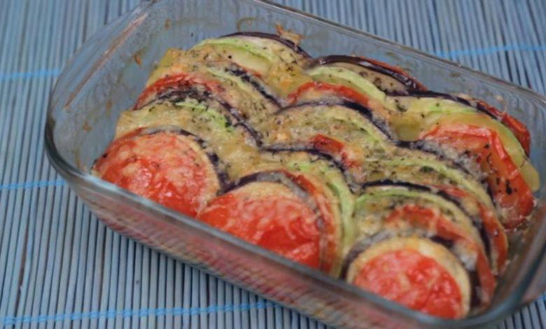 фото запечённых овощей