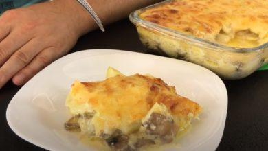 Photo of Запеканка с картофелем и грибами под сыром